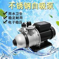 地表水提升抽水机不锈钢自吸自来水增压泵