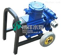 BYK自吸式可移动油泵 煤油专用泵