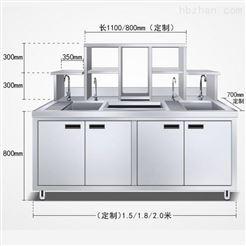 奶茶要的设备,不锈钢奶茶操作台
