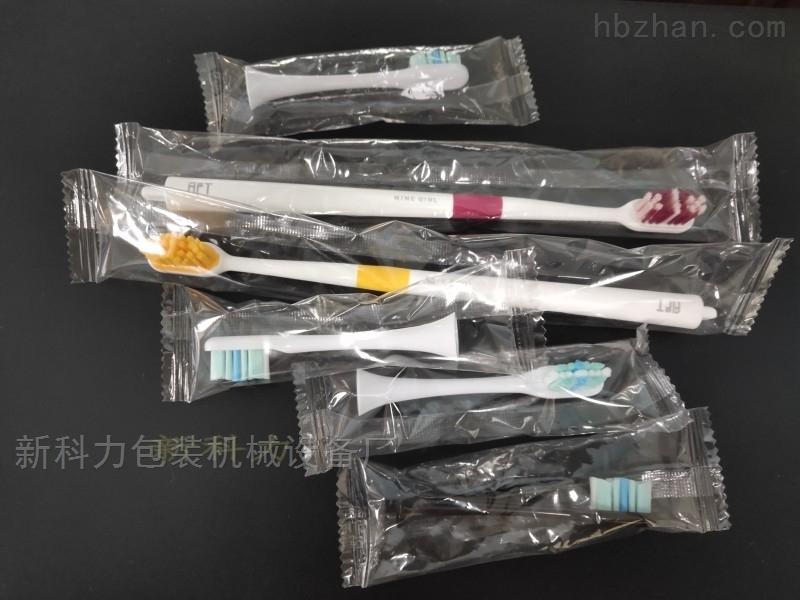电动牙刷头充气包装机