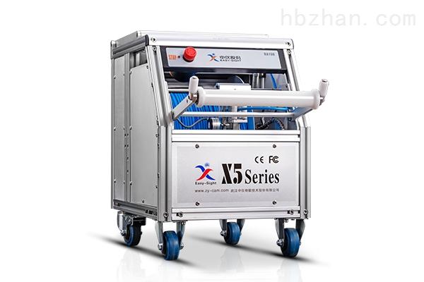 新一代数字高清型管道CCTV检测机器人X5-HT