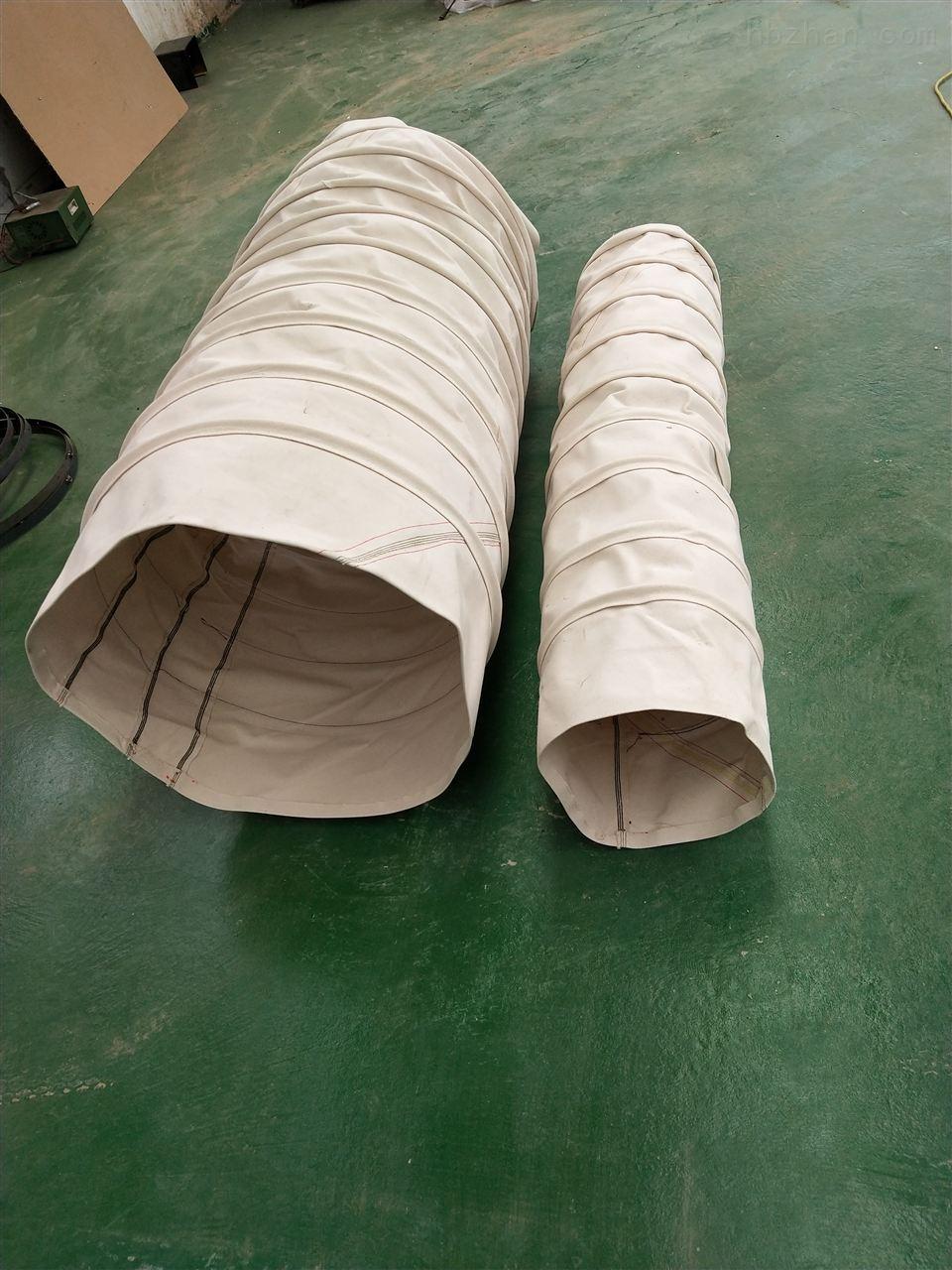 环保散装机耐磨水泥伸缩布袋
