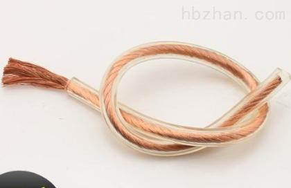 透明护套线 多股软铜线 透明护套电缆试