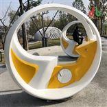 互动喷泉宜春景区脚踏自行车互动喷泉
