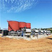 洗沙泥浆脱水机在马鞍山矿山的应用