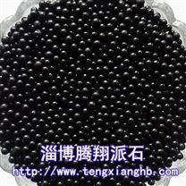 微晶石球腾翔派石活化水球亮黑色陶瓷球