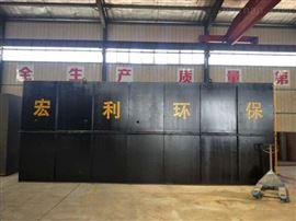 wsz养殖厂地埋式污水处理设备达标排放