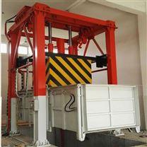 三缸四柱垂直式垃圾中转站 垃圾日处理120吨