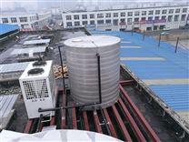 泳池恒温空气能热水工程 低温型泳池热泵