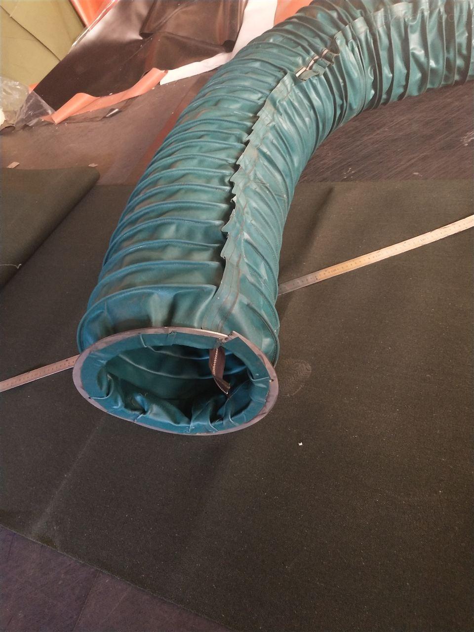 耐磨螺旋式伸缩除尘通风管