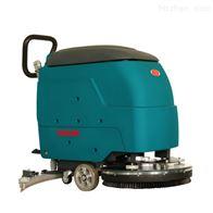 YSD-550大刷盘手推式洗地机商场广场物业洗地吸干机