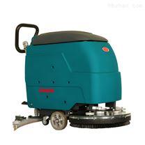 潔樂美手推式大刷盤洗地機超市清洗機拖地機