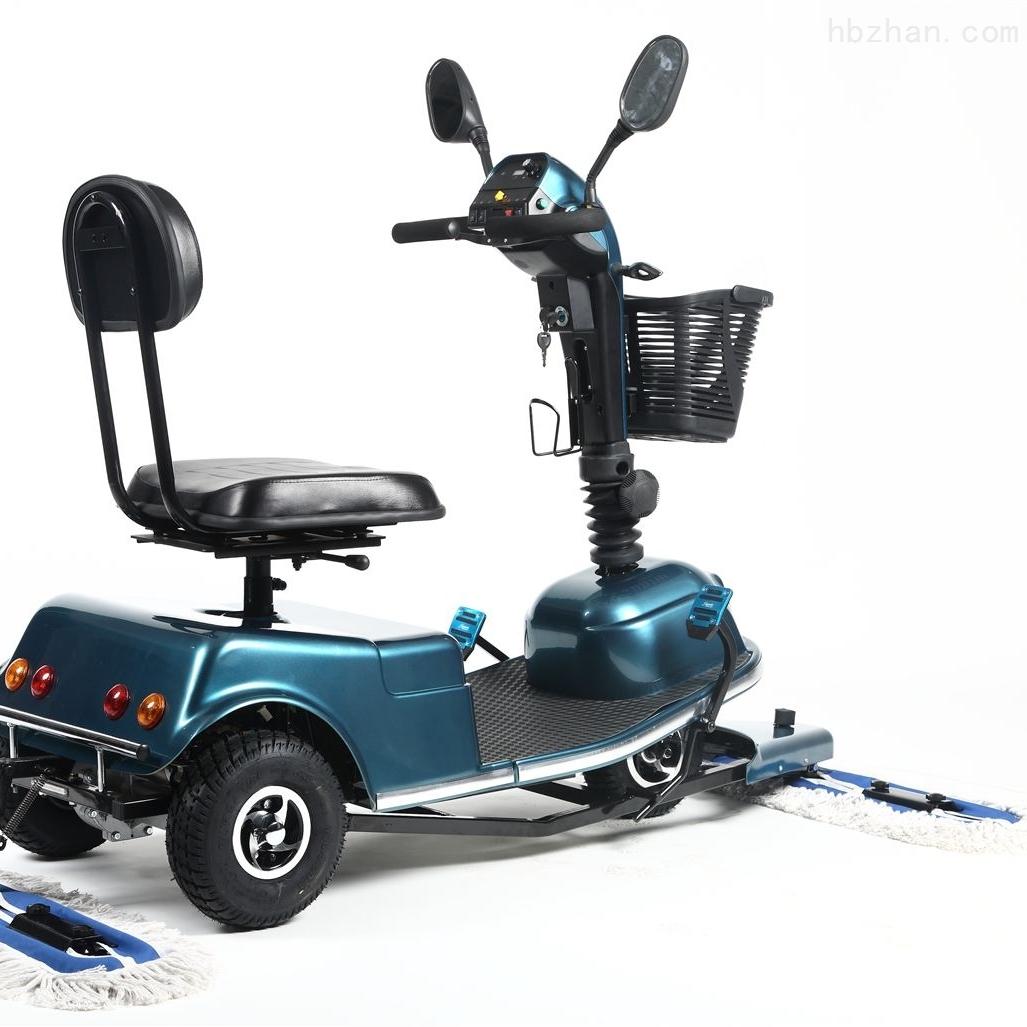 电动驾驶保洁尘推车