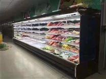 杞县超市冷柜、肉类陈列柜、蔬菜水果风幕柜