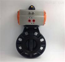 D671X-10S DN300氣動UPVC塑料對夾蝶閥