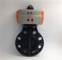 D671X-10S DN300气动UPVC塑料对夹蝶阀