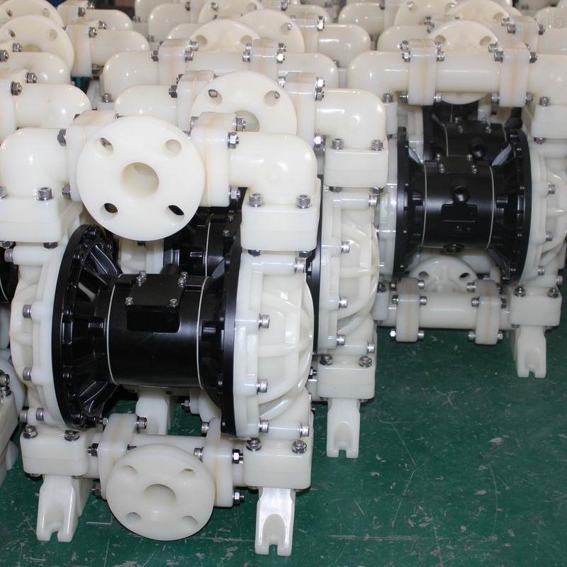 气动隔膜泵处理技术