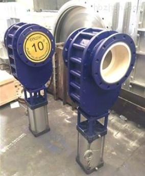双闸气锁耐磨陶瓷阀WZ644TC
