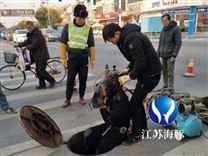 南宁市管道口气囊封堵公司、潜水员水下封堵作业