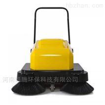 河南凱騰手推電動雙刷掃地機小區車間清掃車