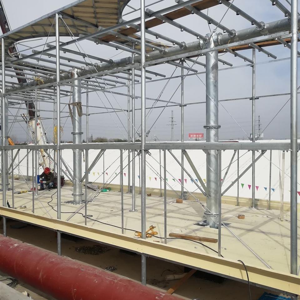 污水处理厂玻璃钢冷却塔