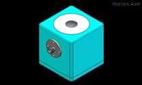大孔徑透射積分球