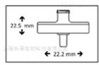 GVS 尼龙膜针头式过滤器孔径0.45um直径17mm