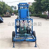 柴油动力打井机农村钻井用的机子