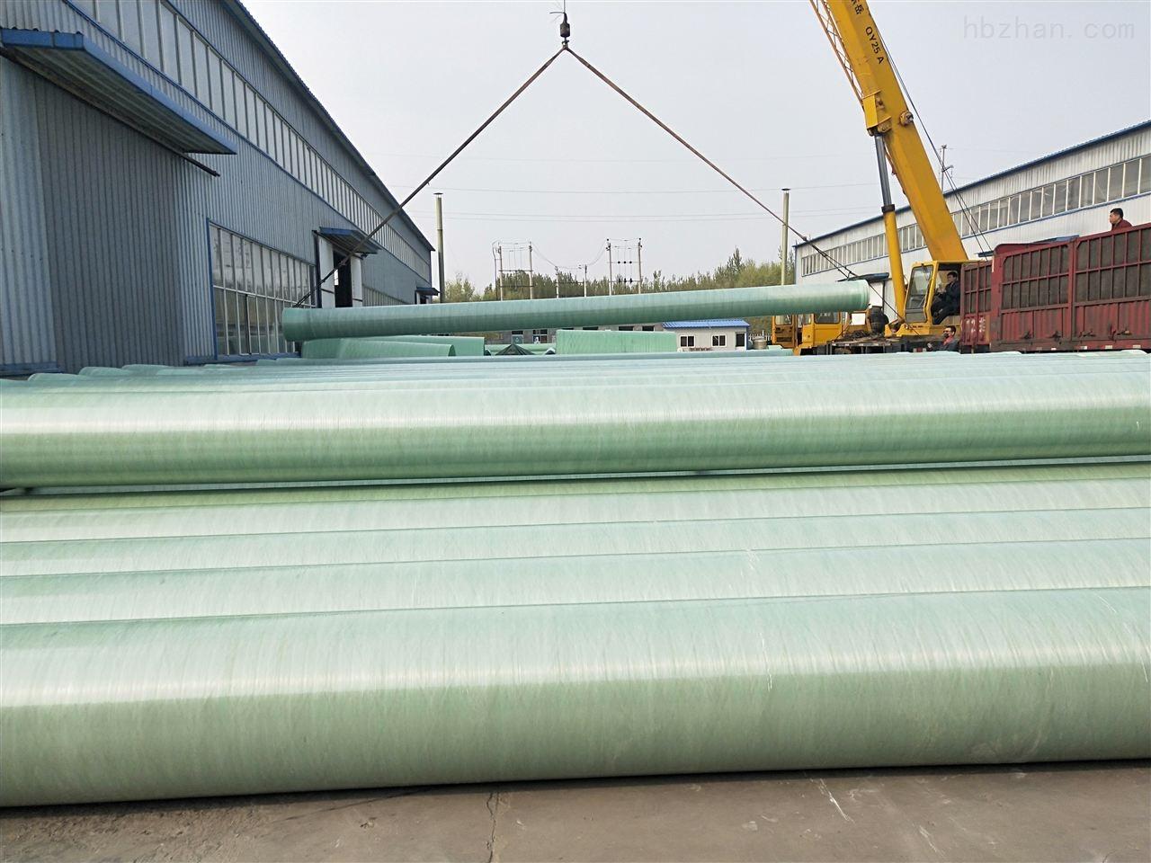 衢州玻璃钢排水管道多少钱