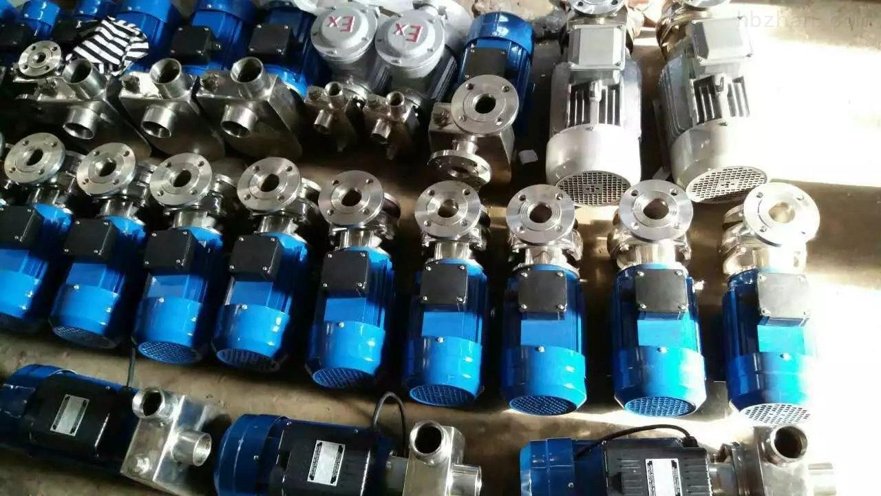 无堵塞小型不锈钢离心泵