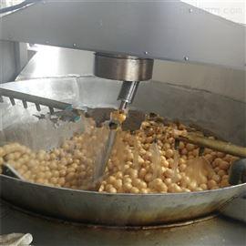 M1200清水面筋球油炸机/自动化油面筋油炸锅