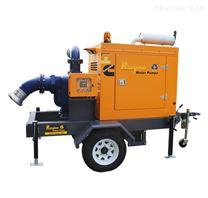 300方拖车式移动防汛泵车
