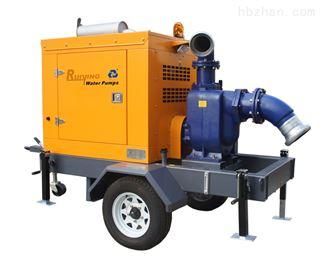 移动自吸排涝泵站