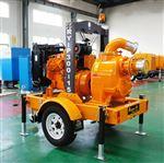 移动式自吸排涝泵车