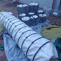 干燥機粉塵顆粒輸送帆布伸縮袋廠家