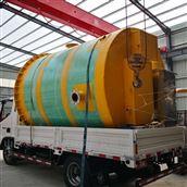 一体化预制泵站 玻璃钢泵站 雨水提升泵站