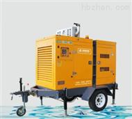 防汛抗洪移动排水泵车