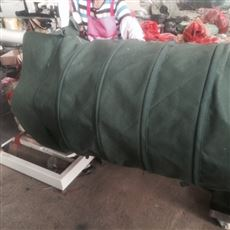 绿色加厚帆布伸缩布袋 专业生产