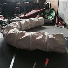 侧库散装机帆布伸缩布袋生产厂家
