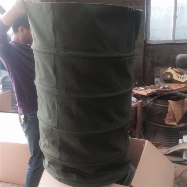 水泥卸料环保耐磨伸缩布袋厂家生产