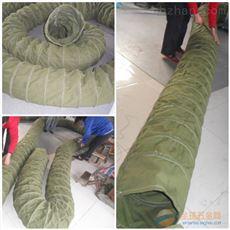 吊环式耐磨损水泥帆布伸缩布袋规格
