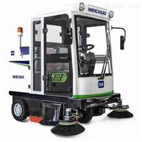 西安明諾駕駛式掃地車 明諾封閉電動掃地機