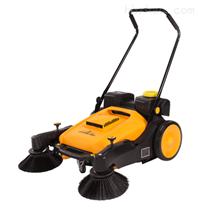 寶雞結力手推式掃地機 無動力噴霧式清掃機