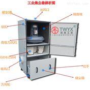 JC-750粉尘解决专用工业集尘机