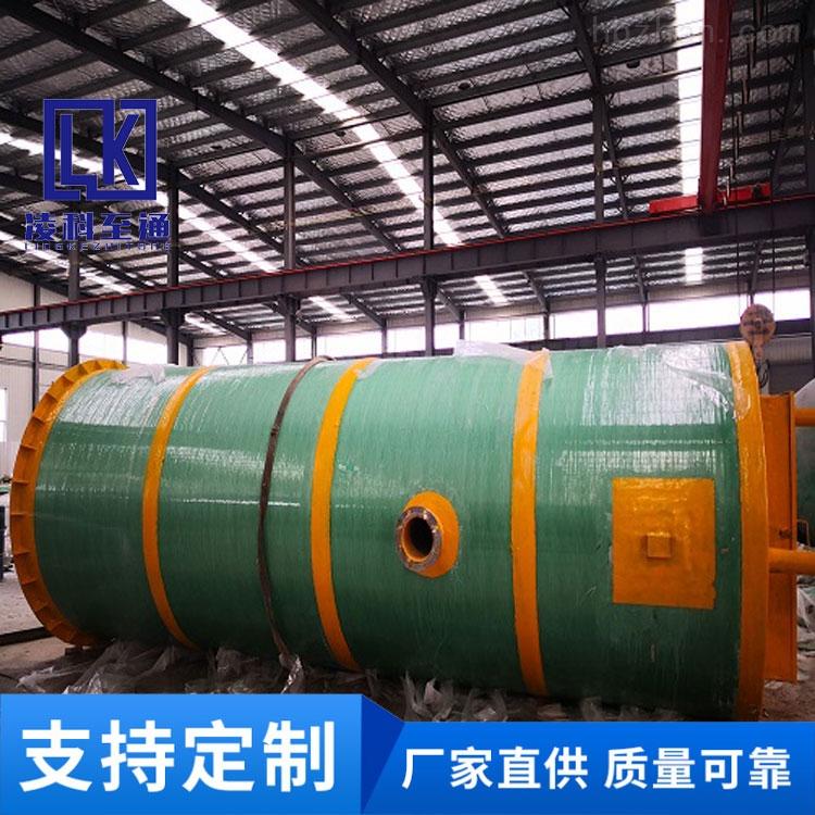 普洱全自动一体化预制泵站工作原理