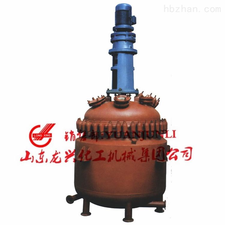 山东龙兴电加热搪玻璃反应釜(搪瓷釜)