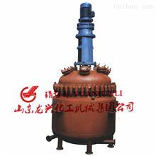 山東龍興電加熱搪玻璃反應釜(搪瓷釜)