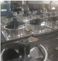 DFBZ低噪声钢制方形轴流风机