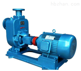 自吸式無堵塞排汙泵ZW係列自吸式無堵塞排汙泵