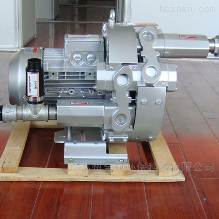 气环式双叶轮旋涡真空泵